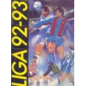 Liga 92/93 Sevilla-1 At. Madrid-3