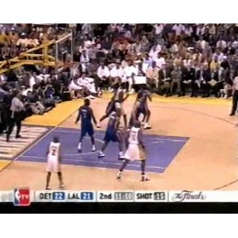 Final NBA 03/04 1ºpartido L.A. Lakers-75 Detroit-87