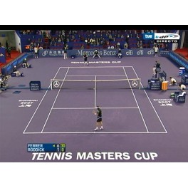 Masters Cup 2007 1/2 Ferrer-Rodick